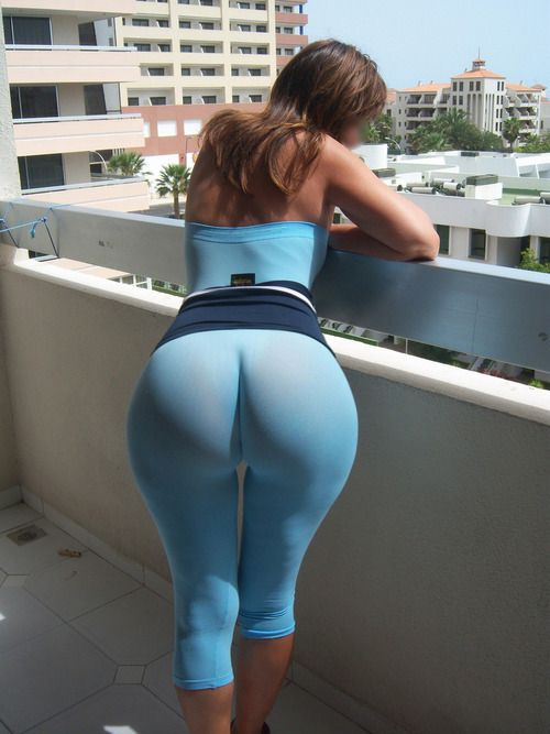 Provocative Natural Huge Latina Sexy Ass In Blue Clothes So Amazing