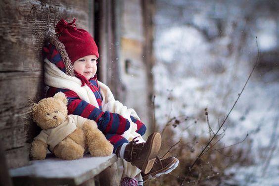 14 Erstaunliche Baby Winter Wunderland Foto Ideen