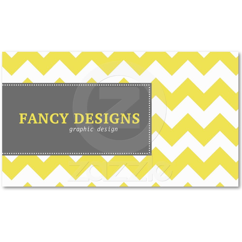 Chic Chevron Business Cards | Pretty Packaging | Pinterest ...