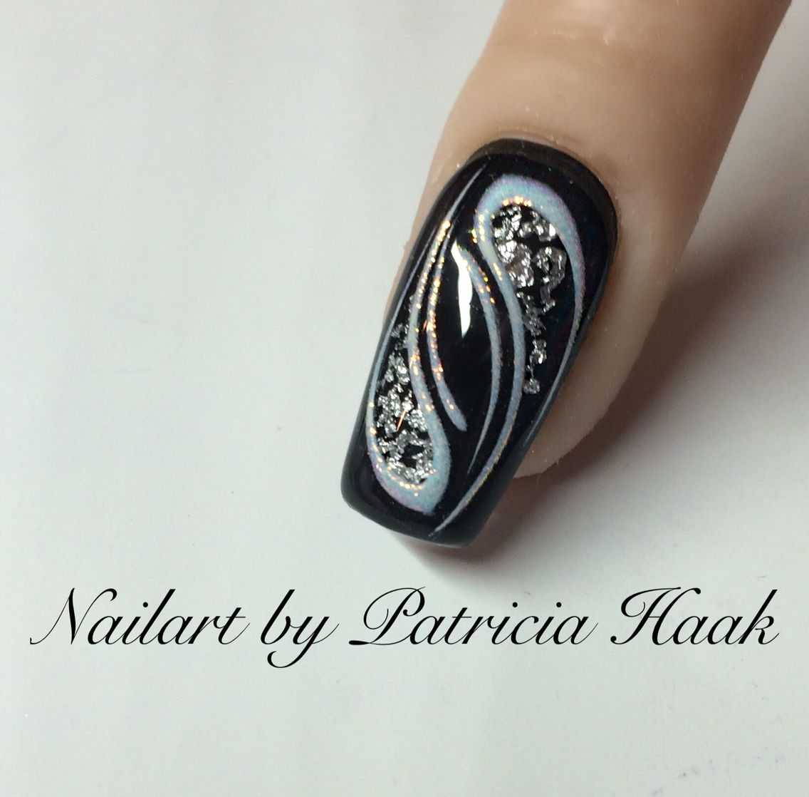 In Black Https M Facebook Com Nailart By Patricia Haak