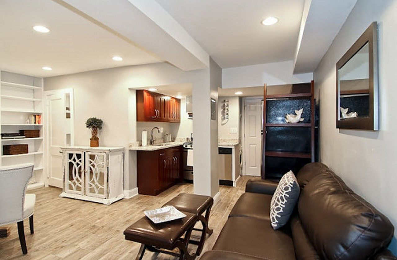 Appealing Basement Living Room Ideas Interior