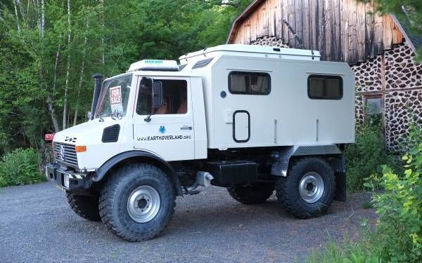 Expedition Camper 1982 Unimog 1300l Expedition Vehicle