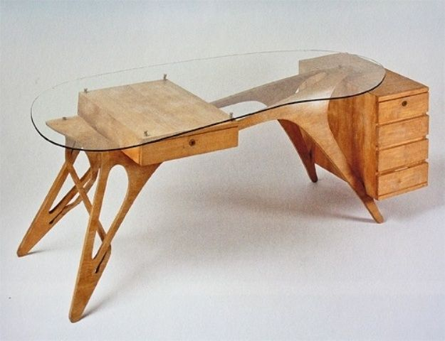 this cool desk design is perfect for women for it is very feminine