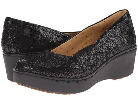 Womens Shoes Clarks Un Estie Black Interest Suede