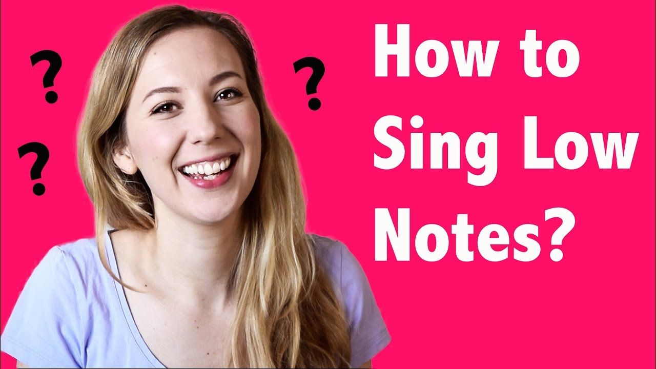 How to Sing Low Notes? - Singgeek, Questions Answered