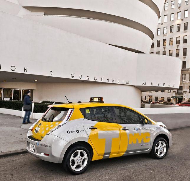 Brooklyn Staten Island Car: New York City Launches LEAF Taxi Pilot Program, Wants 1/3