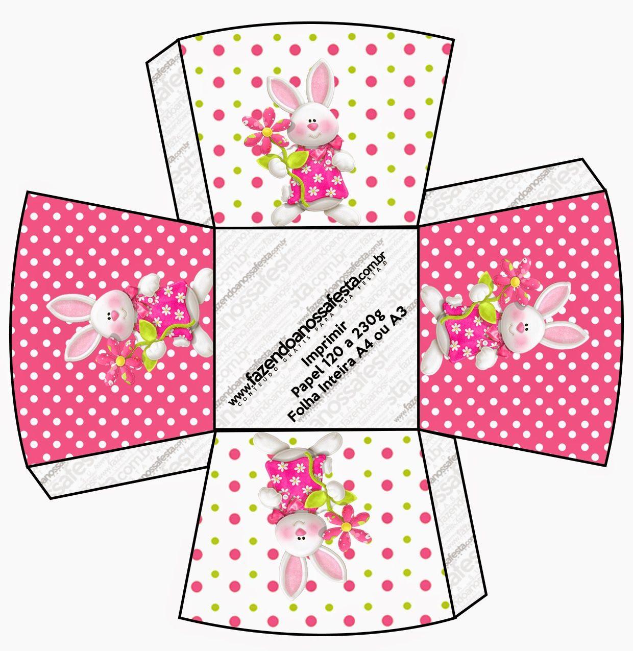 Pascua en Rosa: Cajas para Imprimir Gratis. | imprimibles ...