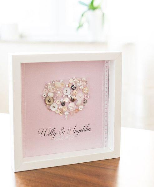 Geschenk Hochzeit Valentinstag Knopfbild Von Jessyknopf Auf