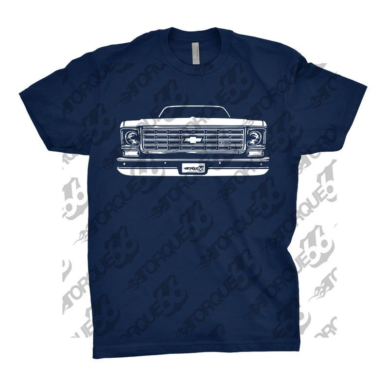 Classic Car Shirt of 1973-74 Chevy C10, Car Enthusiast, 1973 Chevy C10 Hoodie, 1971 1972 1973 1974 1975 Chevy C10, Gift, Chevy C10 Hoodie