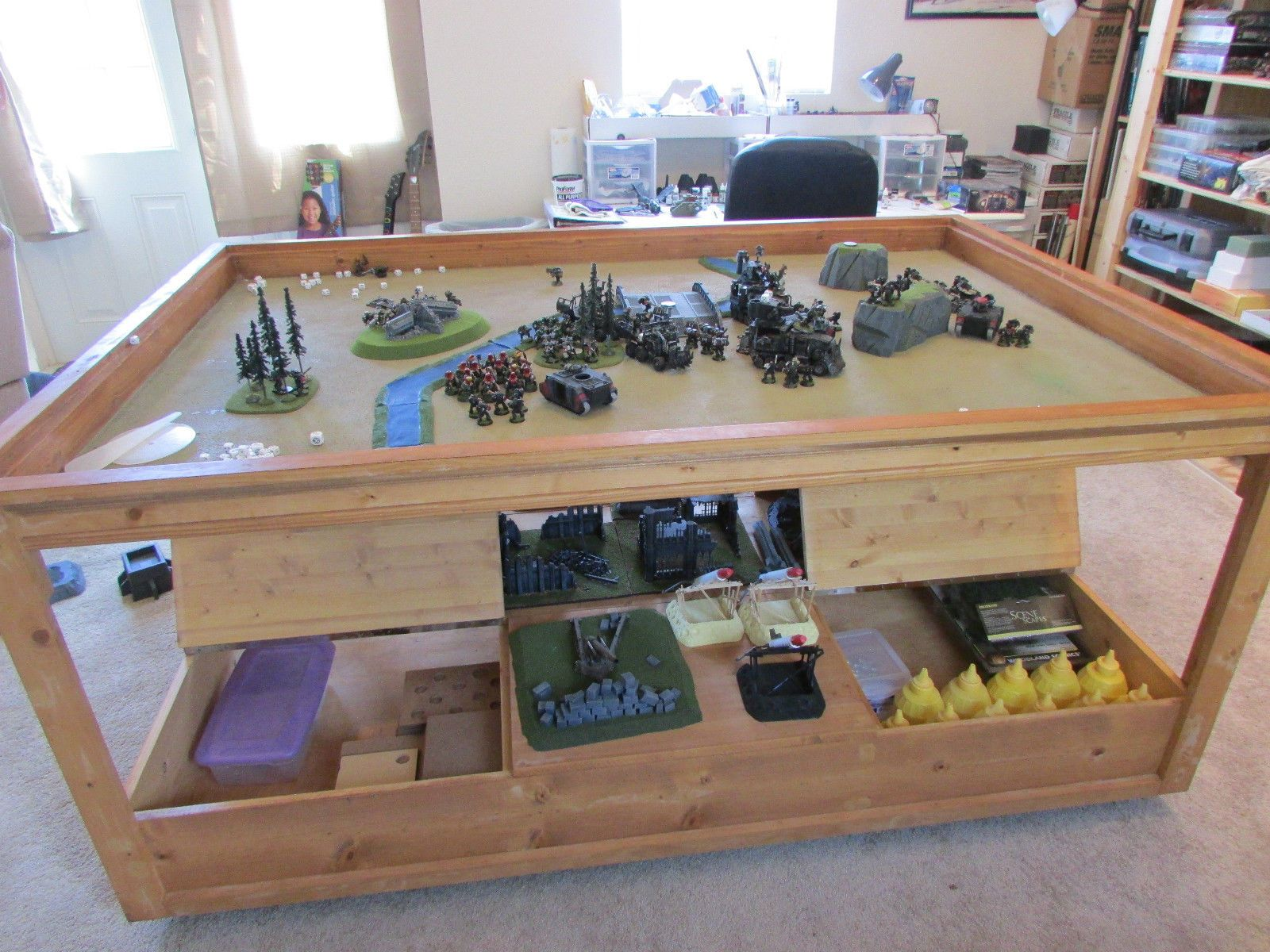 The perfect gaming table Geek Chic know s what they are doing