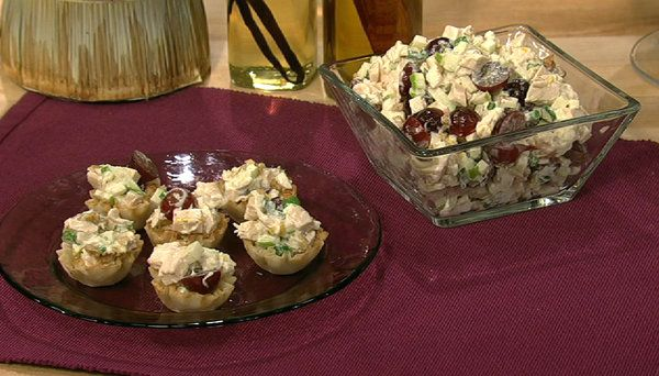 the chew | Recipe  | Clinton Kelly's Waldorf Salad With Chicken