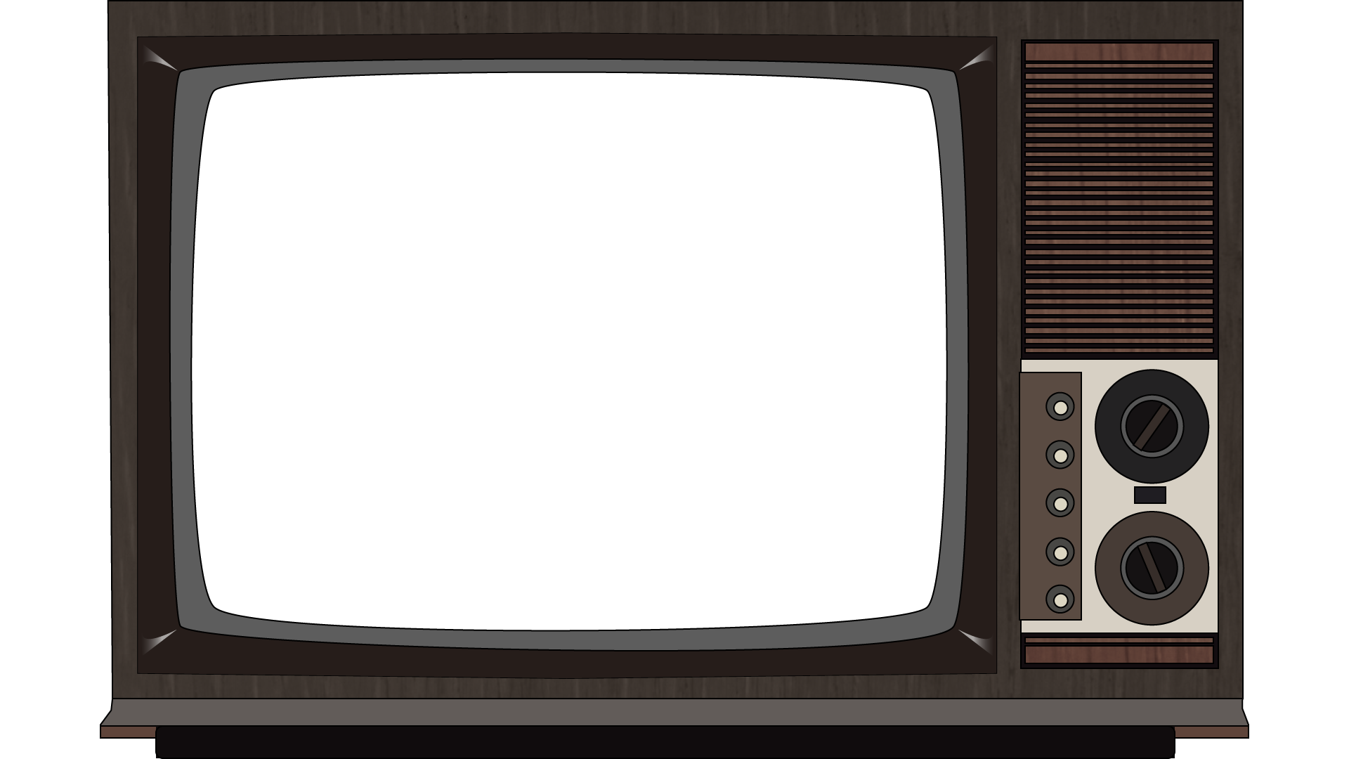 Old Television PNG Image Vintage tv, Television, Framed tv