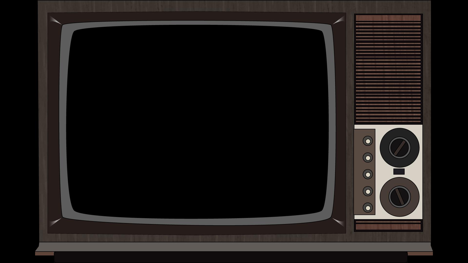 Old Television Png Image Vintage Tv Framed Tv Television