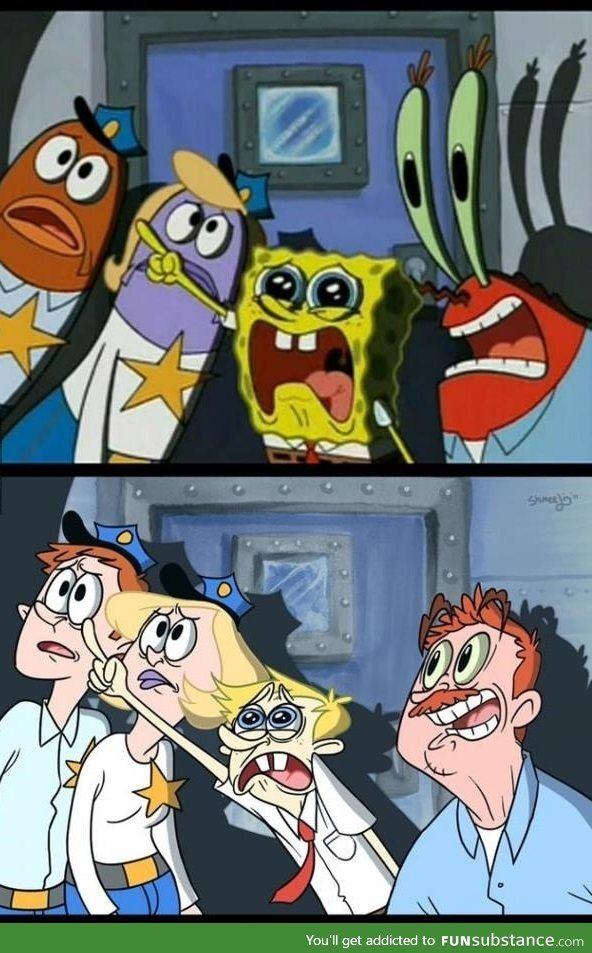 Human Mr Krabs : human, krabs, Spongebob, Human, FunSubstance, Spongebob,, Cartoon