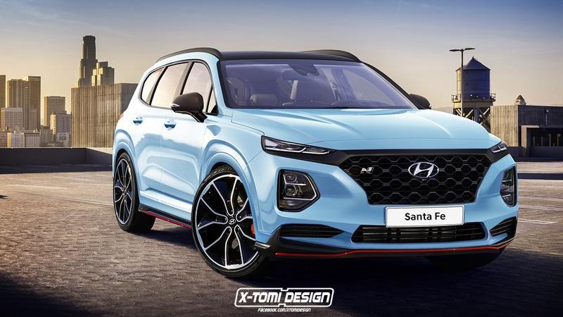 2020 Hyundai Santa Fe N Top Speed In 2020 Hyundai Suv Hyundai Santa Fe Sport New Hyundai Santa Fe
