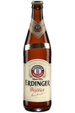 Erdinger Weissbier, not quite my favorite. Lacks flavor ...