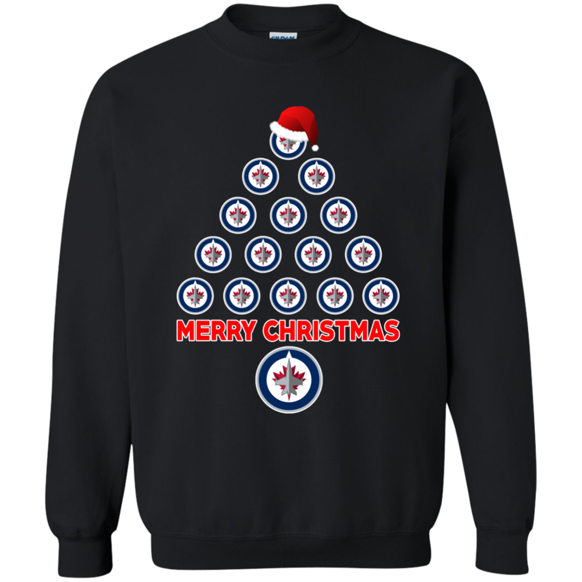 Winnipeg Jets Ugly Christmas Sweaters Merry Christmas Hoodies ...