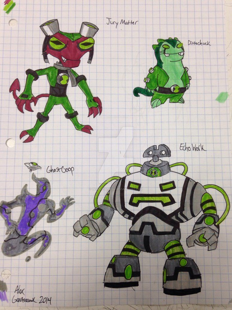 Ben 10 alien fusions by insanedude24 on DeviantArt | Ben ...
