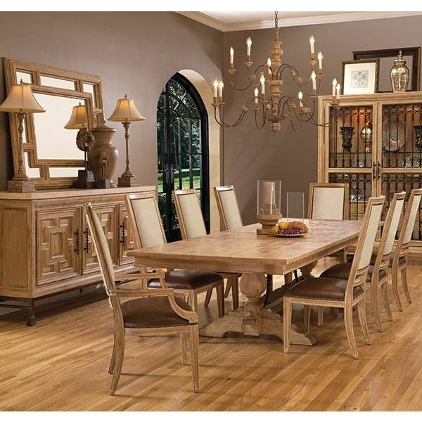Ancestry Dining Table Fine Furniture Design Star Furniture Simple Dining Room Furniture San Antonio