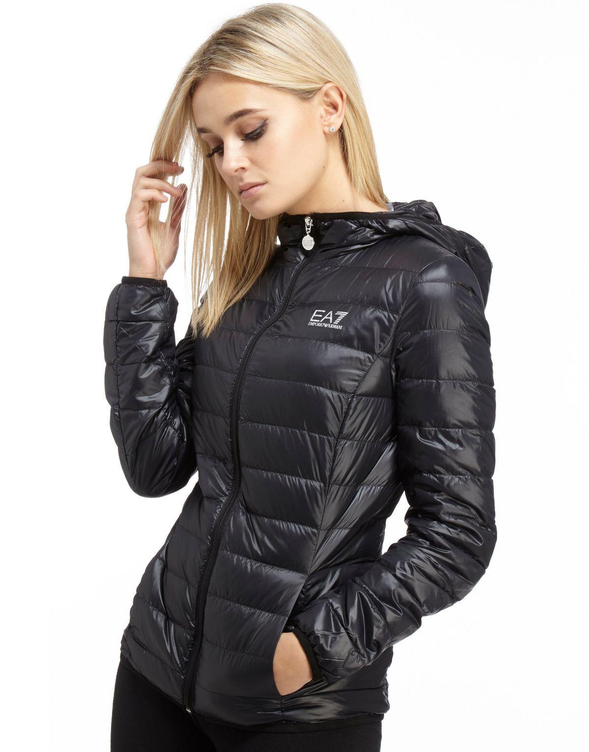 Emporio Armani EA7 Core Jacket Black Womens Emporio