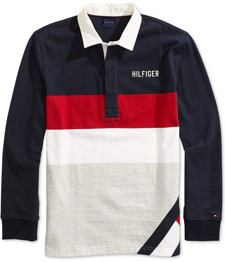 tommy hilfiger rugby shirt herren