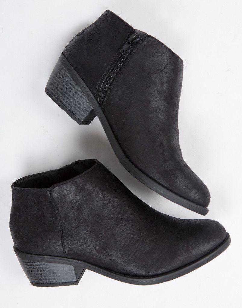 Short Black Ankle Boots