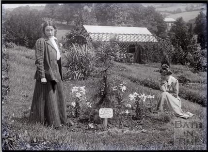 Annie Kenney   Adela Pankurst and Annie Kenney in the arboretum, 1910 - photo from ...