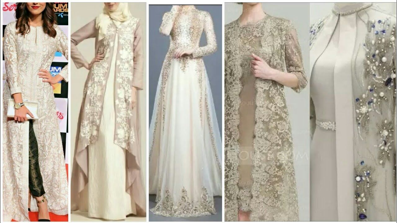 TOP BEAUTIFUL & STYLISH GOWN STYLE OPEN SHIRTS CASUAL… | TOP ...
