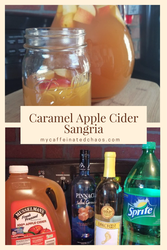Caramel Apple Cider Sangria Recipe