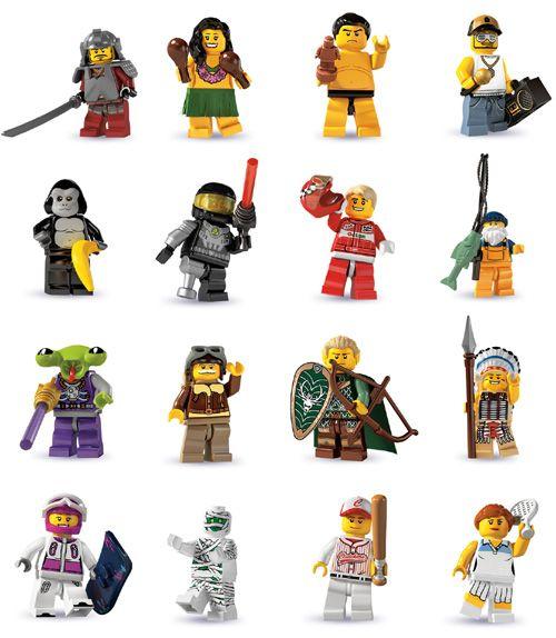 Lego Minifigures Pictures