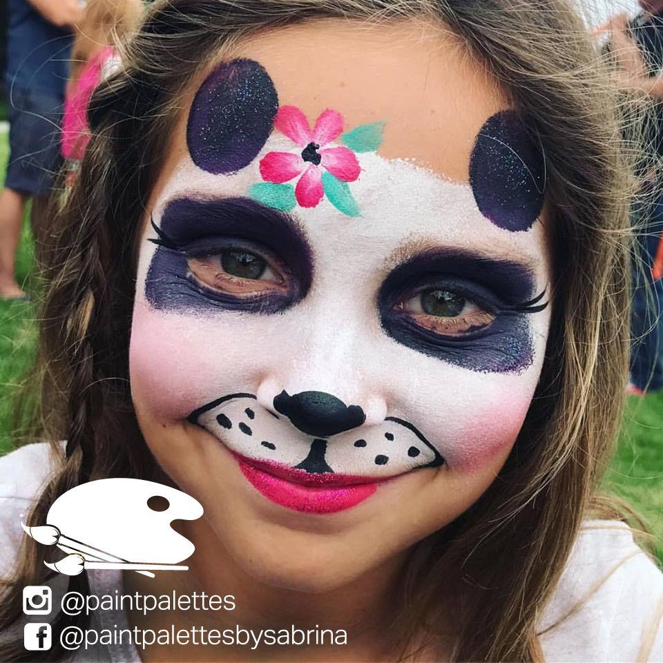 #Cute #Panda Face Paint - Halloween Make-up Artist from ...