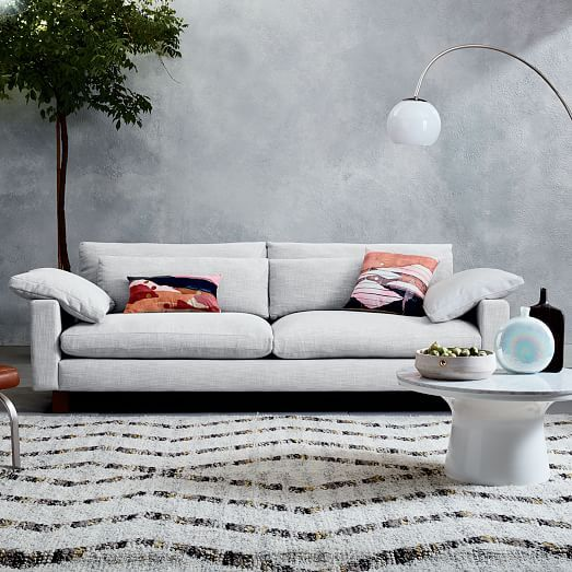 Too Soft Harmony Sofa 82 West Elm Seemed Low To Ground Without Much Support