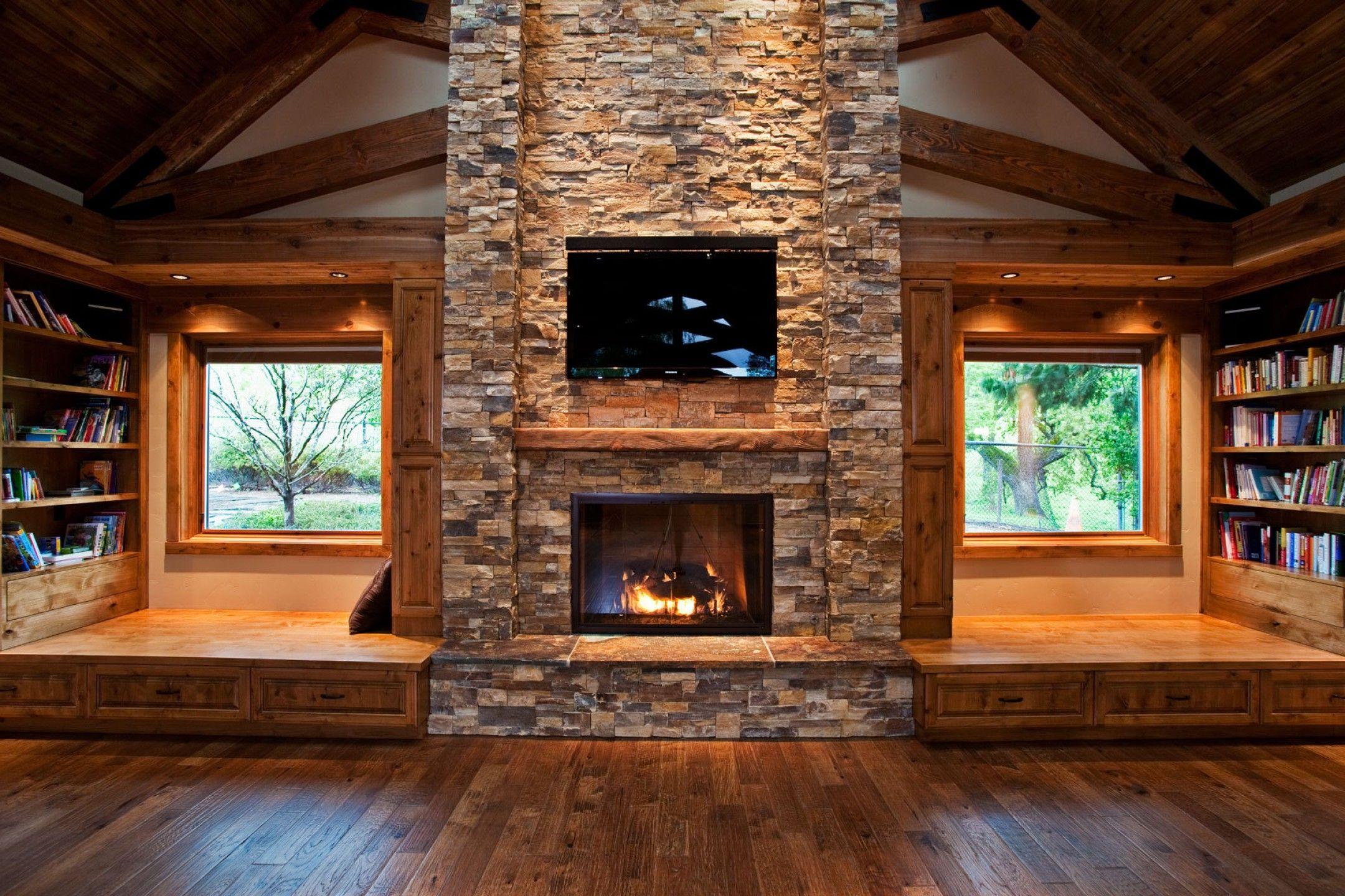 Log Cabin Fireplace Ideas Furniture Log Cabin Decorating