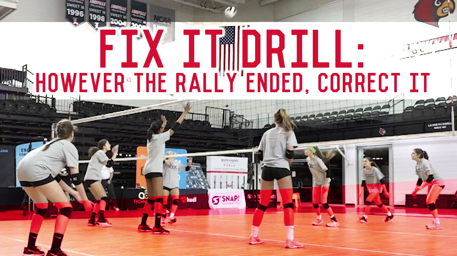 Fix It Drill However The Rally Ended Correct It The Art Of Coaching Volleyball Coaching Volleyball Volleyball Workouts Volleyball Training