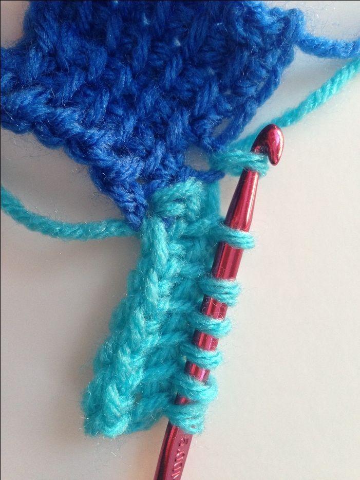 Entrelac Crochet Tutorial   Tejido y Puntos