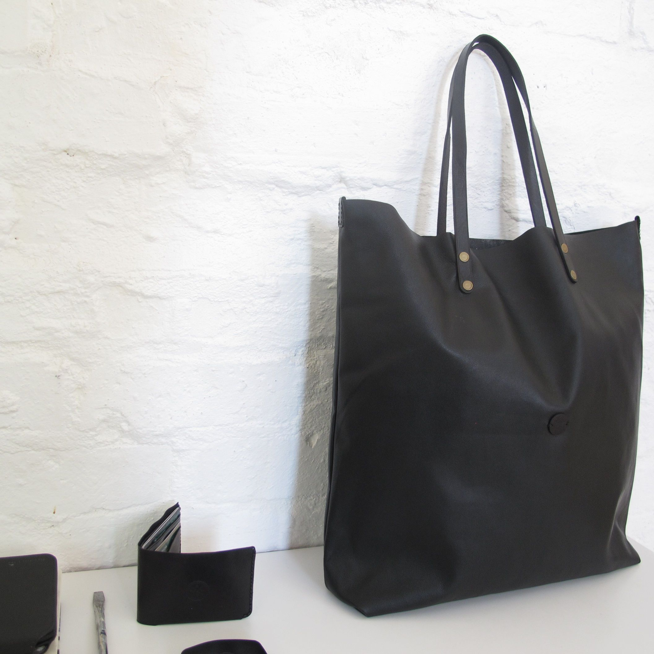 Deluxe Nappa Shopper and wallets by RU.