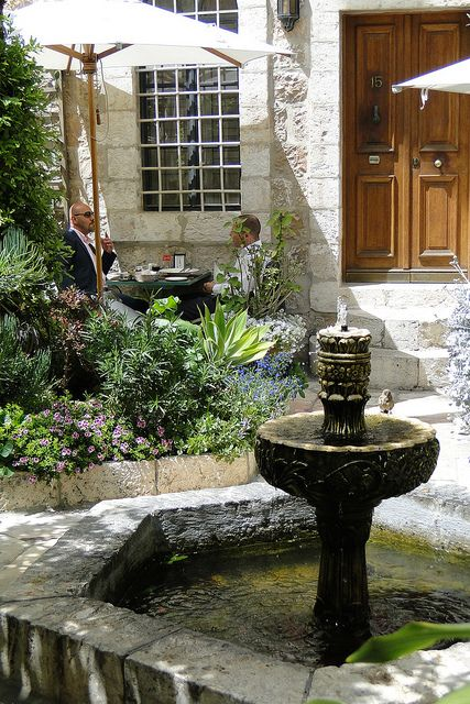 Garden of American Colony Hotel - East Jerusalem - Israel | Israel ...