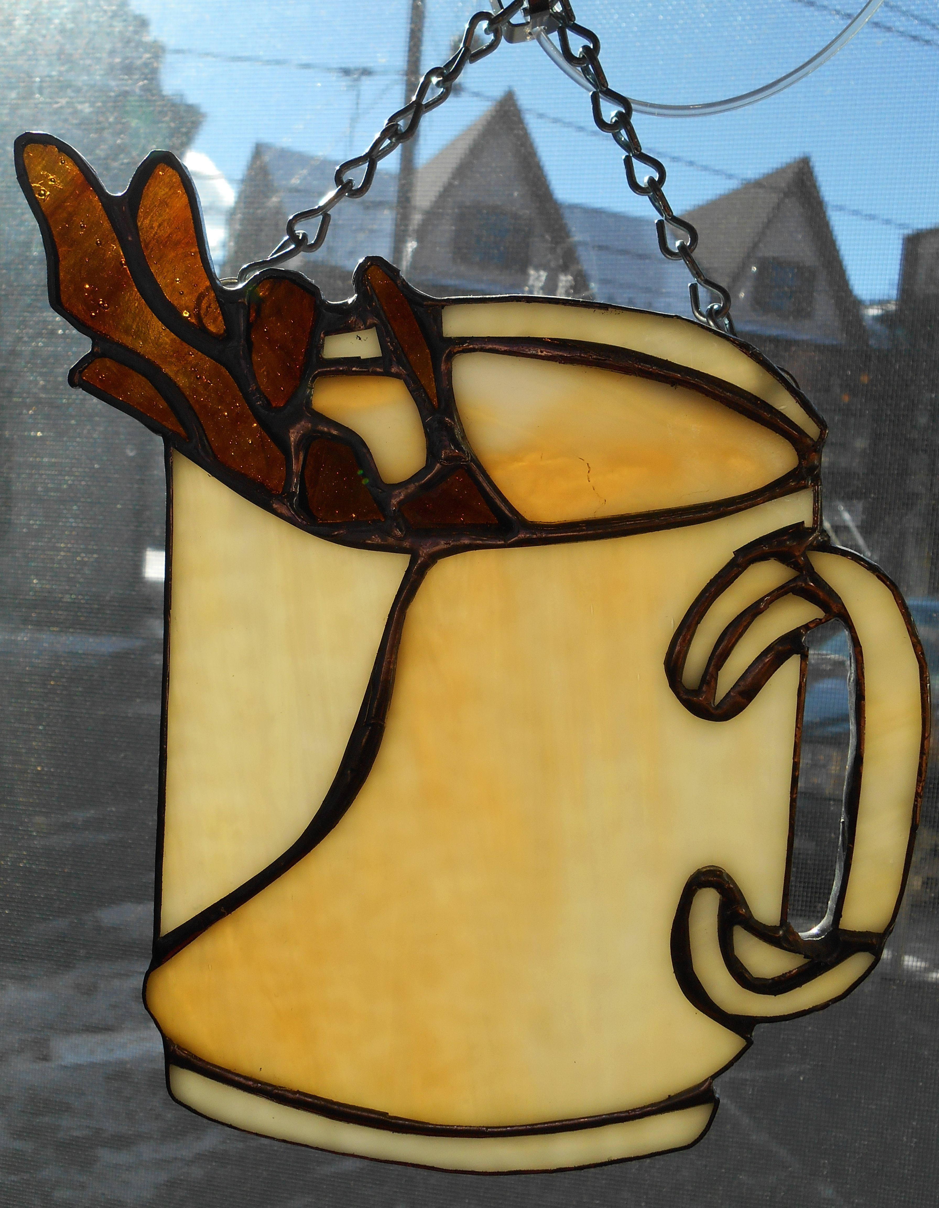 Stained Glass Coffee Mug! (With images) Stained glass