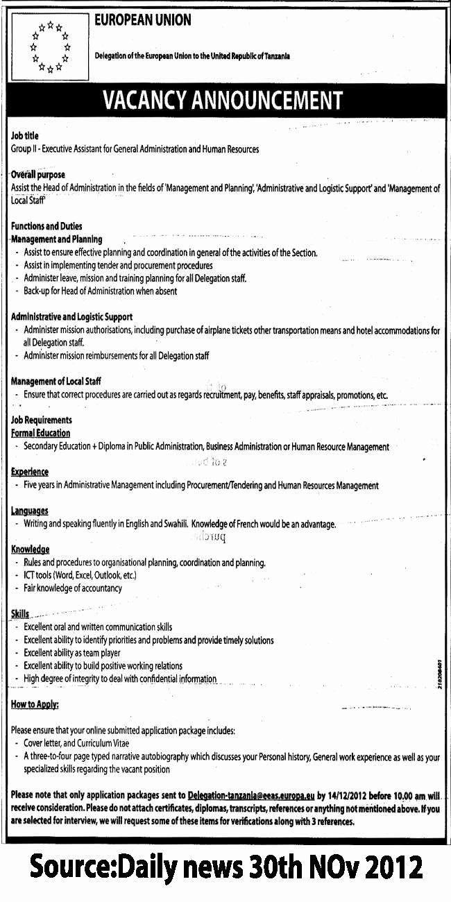 Hr assistant Job Description Resume Best Of Executive