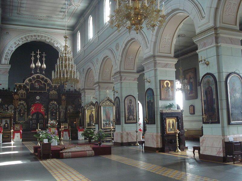St Boris and Gleb Orthodox Cathedral in Daugavpils6 - Борисоглебский собор (Даугавпилс) — Википедия
