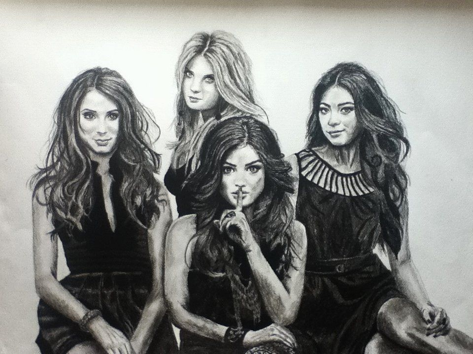 pretty liars charcoal by is passion04 pretty