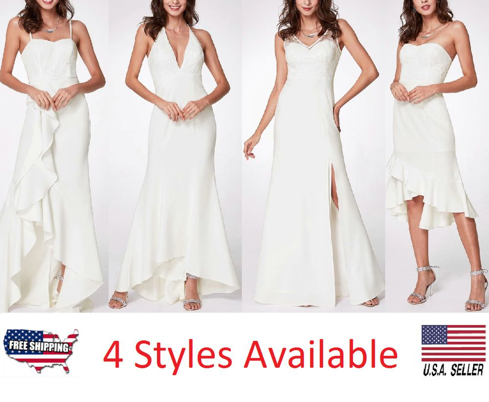 c9fb0c897c75c Women Wedding Dress S V Long Evening Formal Cocktail Gown Prom Party  Bridesmaid #fashion #clothing