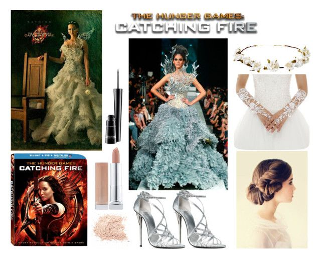 """""""Hunger Games Style"""" by ashtonirwin1234 ❤ liked on Polyvore featuring moda, Cult Gaia, MAC Cosmetics, Hungergames e contestentry"""