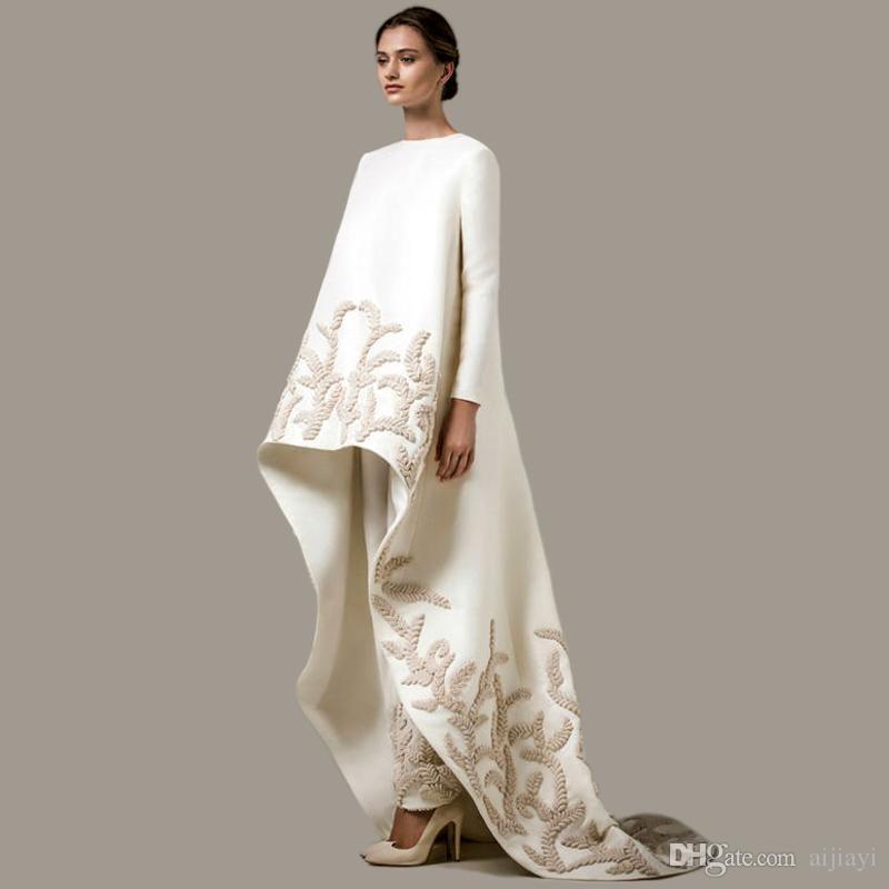 9ba61b1684ff7 Hot Sale Newest Turkish Women Clothing Islamic Muslim Dresses With Pants  Arabic Evening Gown Long Sleeve Dubai Kaftan Evening Dress 2017 Black Dress  Dresses ...