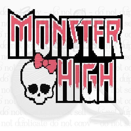 ('Crocheting : MonsterHigh Graph