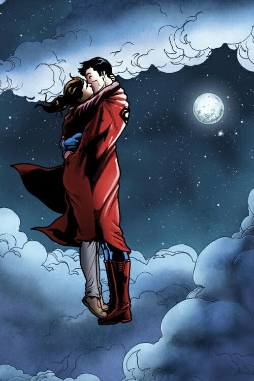 Don't you ever leave again Superman. I won't let you go ...