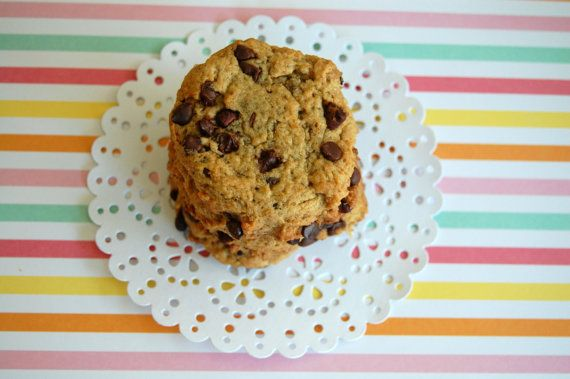 Chocolate Chip Cookies from Sweet Infusions on Etsy! Yum!