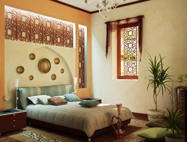 Lovely Modern Bedroom Designs And Bathroom Decorating Ideas In Arabic Style