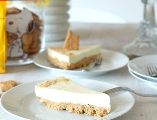 Rezept Philadelphia Kuchen Mit Butterkeks Boden Frischkase