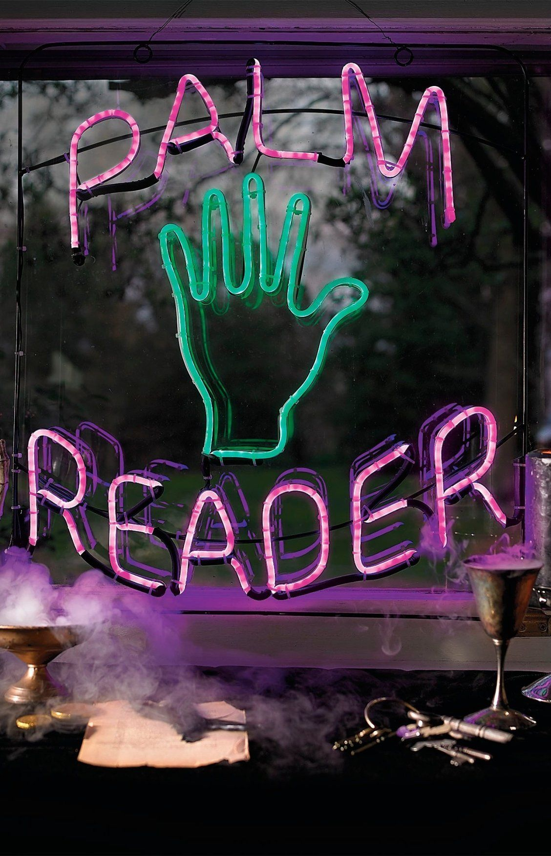 'Palm Reader' Neon Sign Grandin Road in 2020 Neon